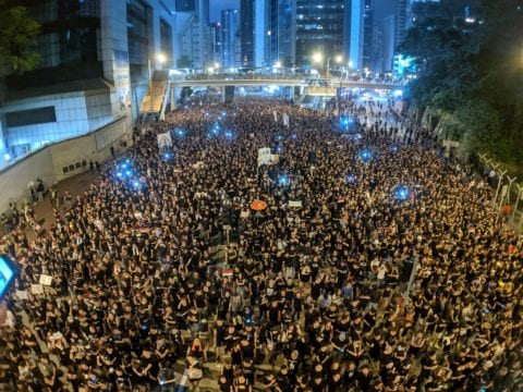 HONG KONG: BEIJING GETTING TOUGHER