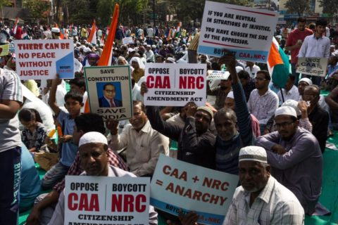 INDIA: MASS PROTESTS CONTINUE