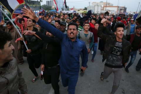 IRAQ: PROTESTS AND THREATS