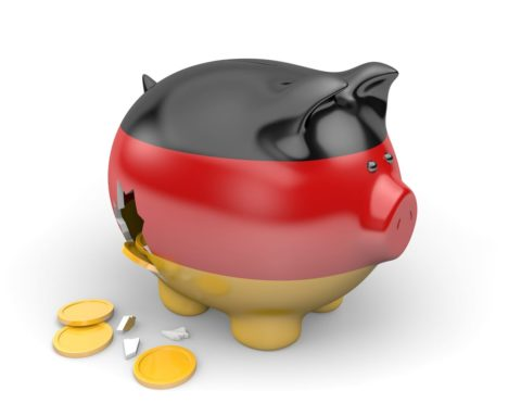 GERMANY: ECONOMY HITS THE BRAKES