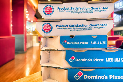 """DOMINO'S KNOWS: FORGET THE """"HEALTHY FOOD"""" HYPE"""