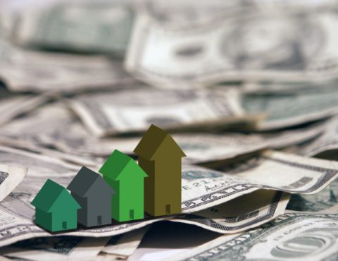 HOME PRICES EDGE UP