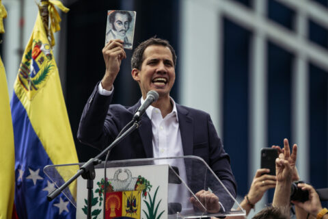 VENEZUELA: UN-HERO'S WELCOME