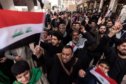 IRAQ: MORE PROTESTS, MORE MURDER