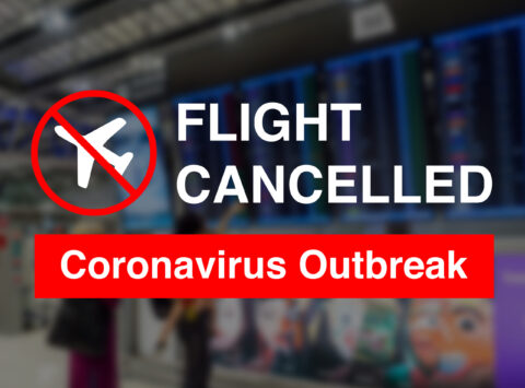 CORONAVIRUS CRASHES AIRLINE REVENUES