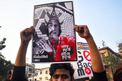 INDIA:  MODI REBUKED