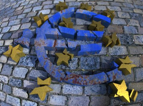 EURO TAKES A BEATING