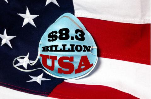 U.S. HOUSE BUDGETS $8.3 BILLION TO BATTLE VIRUS