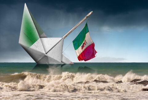 ITALY WARNS OF ECONOMY'S SHORTFALL
