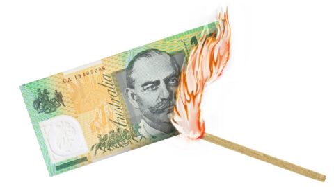 AUSTRALIAN DOLLAR GOING SOUTH